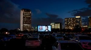 Catch A Classic Halloween Flick From The Comfort Of Your Car At The Rooftop Cinema Club Pop-Up Movie Theater In Texas