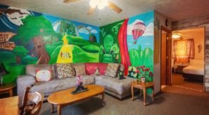 Sleep In A Whimsical Wizard Of Oz Themed Room In Wamego, Kansas