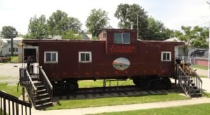 Become A Stowaway For A Night In A Train Car Room At Sugarcreek Village Inn In Ohio