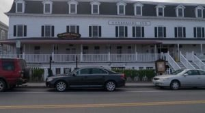 Stay Overnight In A Century-Old Hotel That's Said To Be Haunted At The Harborside Inn In Rhode Island