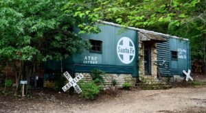 Become A Stowaway For A Night In A Santa Fe Boxcar In Texas