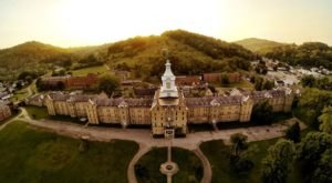 The Largest Hand-Cut Sandstone Building In America Is Right Here In West Virginia