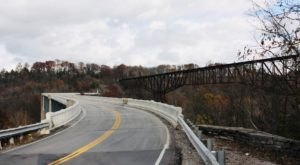 "This Unique ""S"" Bridge In Kentucky Is The Only One Of Its Kind In The U.S."