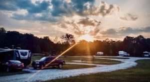 A Year-Round Campground In Kentucky, Callie's Offers Lake Views And Incredible Hiking Nearby