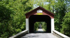 One Of The Most Haunted Bridges In Pennsylvania, Van Sant Covered Bridge Has Been Around Since 1875