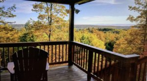 You'll Have A Front Row View Of A Wisconsin Valley In This Cozy Cabin