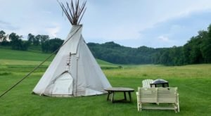 With Cabins, Suites, And Even A Tipi, Justin Trails In Wisconsin Is The Perfect Place For Your Next In-State Getaway