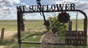 Take A Memorable Drive To The Top Of Kansas' Highest Point, Mount Sunflower