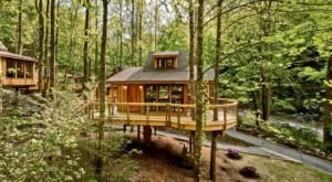 There's A Treehouse Village In Tennessee Where You Can Spend The Night