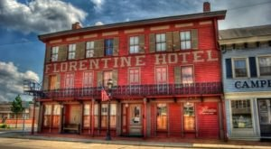 Once Upon A Time, The Florentine Restaurant Was A Prominent Ohio Hotel That First Opened In 1814