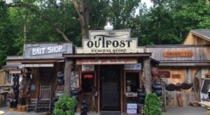 Take A Trip Back In Time When You Visit The Outpost, A Rustic General Store And Restaurant In Tennessee