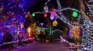 The Dazzling Light Display At The Idaho Botanical Garden Is A Treasured Gem State Tradition