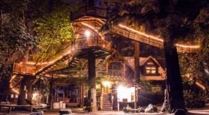 There's A Treehouse Village In Oregon Where You Can Spend The Night
