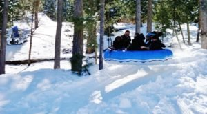 Tackle A 900-Foot Snow Tubing Hill At Ruidoso Winter Park In New Mexico This Year
