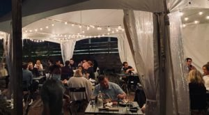 Dine Under A Heated Tent At 116 Crown, A Romantic Restaurant In Connecticut