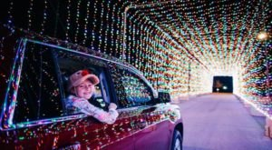 Massachusetts' Enchanting 1.5-Mile Magic Of Lights Holiday Drive-Thru Is Sure To Delight