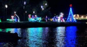North Carolina's Enchanting Lake Linda Holiday Drive-Thru Is Sure To Delight