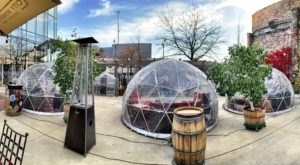 Dine Inside A Private Igloo At City Winery In Illinois