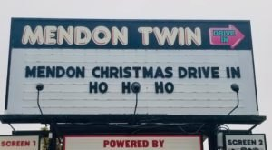Cozy Up To A Holiday Movie At Mendon Twin Drive-In This Season In Massachusetts