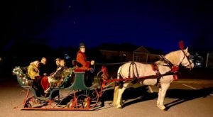 Take A Sleigh Ride Through The Charming Town Of Mt Airy, Maryland