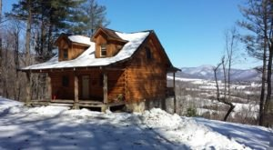 This Mountain Cabin In Virginia Is A Quiet Getaway All Four Seasons Of The Year