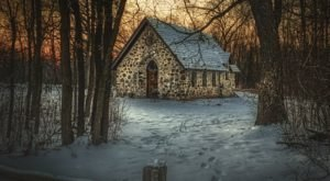Undeniably Enchanting, All Saints Episcopal Chapel In Wisconsin Looks Like Something From A Fairy Tale