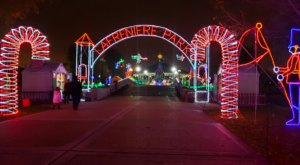 Over 10 Million Lights Illuminate Lafreniere Park Near New Orleans This Holiday Season