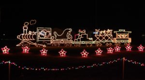 Drive Through Millions Of Lights At Christmas In The Park In Mississippi At Their Holiday Display