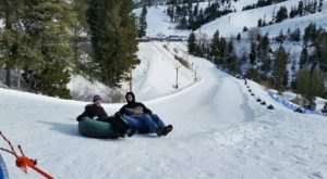 Tackle An 800-Foot Snow Tubing Hill At Bogus Basin Mountain Recreation Area In Idaho This Year