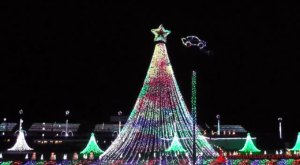 South Carolina's Enchanting Upstate Holiday Light Show Is Sure To Delight