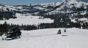 The 2-Hour Scenic Snowmobile Tour At Hope Valley In Northern California Is Perfect For First-Time Riders