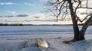 The Snow-Covered Bear Head Lake State Park Is A Can't-Miss Winter Oasis In Minnesota