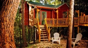There's A Treehouse Village In Missouri You Can Spend The Night