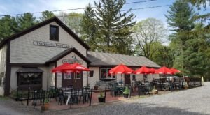 Nestled On A National Scenic Byway, Vanilla Bean Cafe Is One Of The Most Charming Eateries In Connecticut