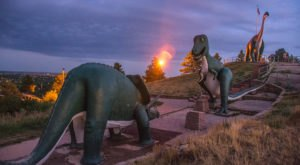 Off the Beaten Path in Dinosaur Park You'll Find a Breathtaking South Dakota Overlook that Lets You See for Miles