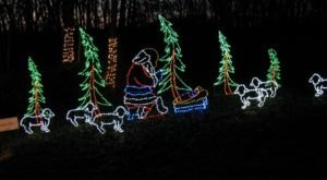 The Enchanting One-Mile Christmas Light Up Celebration Drive-Thru Near Pittsburgh Is Sure To Delight