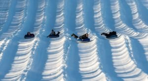 Tackle A 6-Story High Snow Tubing Hill At Mount Pleasant Of Edinboro In Pennsylvania This Year
