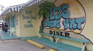 You'll Feel The Love When You Dine At Liz's Where Ya At Diner Near New Orleans