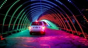 Drive Through Millions Of Lights At Expo Idaho At The Christmas In Color Holiday Display