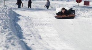 Tackle A 400-Foot Snow Tubing Hill At Tube Town In Northern California This Year