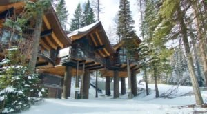 There's A Treehouse Village In Montana Where You Can Spend The Night