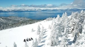 The 2-Hour Scenic Snowmobile Tour At Zephyr Cove In Nevada Is Perfect For First-Time Riders