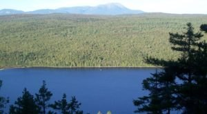 Nahmakanta Lake Is A Beautiful Lake Nestled In The Maine Mountains