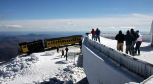 New Hampshire's Highest Point Is Home To An Extreme Weather Observatory