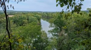 Off The Beaten Path In Bluffs Of Beaver Bend, You'll Find A Breathtaking Indiana Overlook That Lets You See For Miles