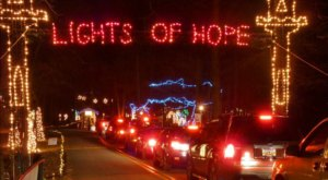 Over 3.5 Million Lights Will Illuminate Anderson's Lights Of Hope This Holiday Season In South Carolina