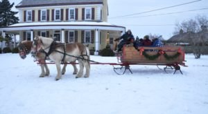 Take A Ride Along 200 Picturesque Acres In Pennsylvania At Northern Star Farm This Winter
