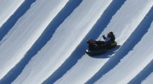 Tackle A 10-Story-High Snow Tubing Hill At Sunburst In Wisconsin This Year