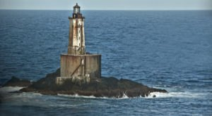 St. George Reef Lighthouse In Northern California Is One Of The Few Accessible Off-Shore Lighthouses In The World