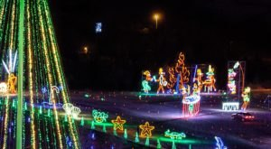 Drive Through One Million Holiday Lights At Shadrack's Christmas Wonderland In Pennsylvania